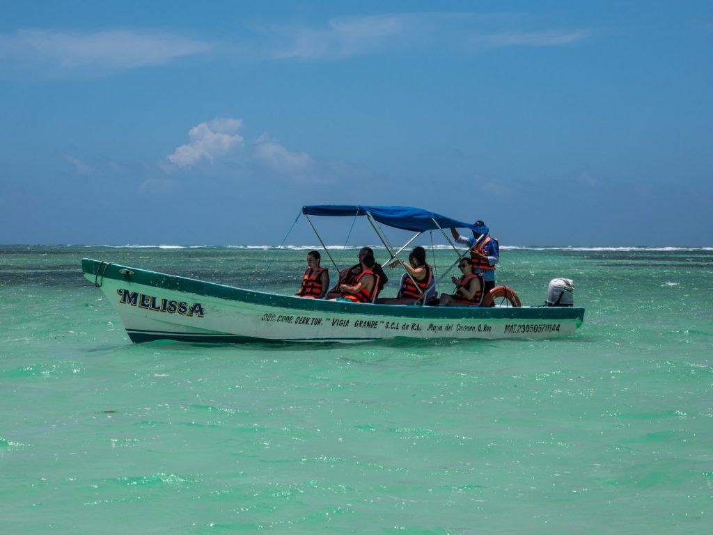 Snorkeling on the Sian Ka'an reef